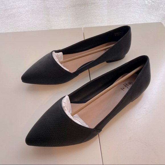 Vegan Black Flats